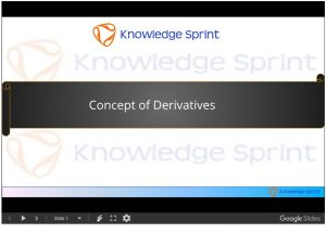 Concept of Derivatives
