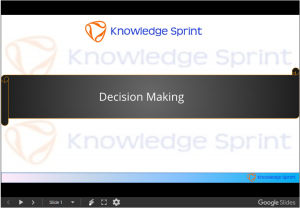 Decision Making, Types of Decision Making