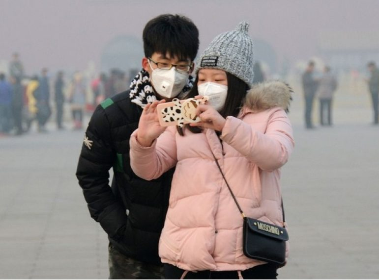 Smog Selfies may cause Health issues