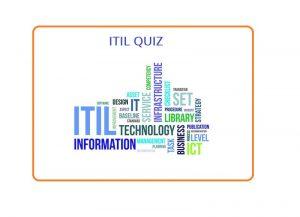 ITIL Quiz
